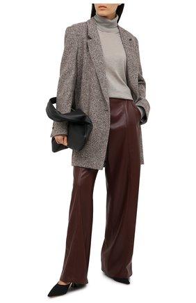Женская кашемировая водолазка RALPH LAUREN серого цвета, арт. 293829114 | Фото 2