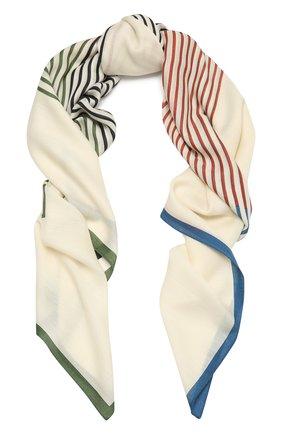 Женская шаль из кашемира и шелка LORO PIANA разноцветного цвета, арт. FAL6211   Фото 1