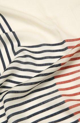 Женская шаль из кашемира и шелка LORO PIANA разноцветного цвета, арт. FAL6211   Фото 2