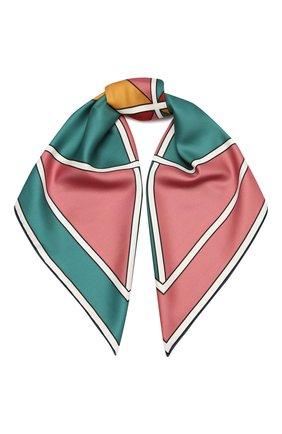 Женский шелковый платок LORO PIANA разноцветного цвета, арт. FAL3848   Фото 1