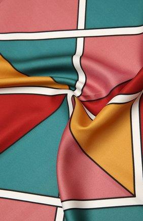 Женский шелковый платок LORO PIANA разноцветного цвета, арт. FAL3848   Фото 2