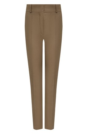 Женские льняные брюки LORO PIANA коричневого цвета, арт. FAL1221 | Фото 1