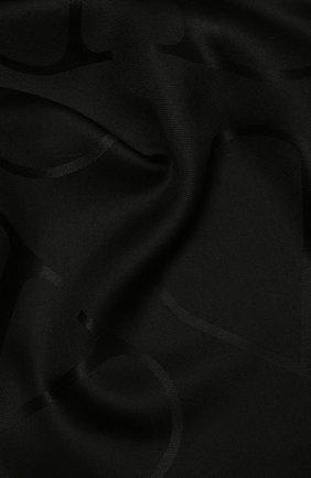 Женская шаль  VALENTINO черного цвета, арт. VW2EB104/AJB   Фото 2
