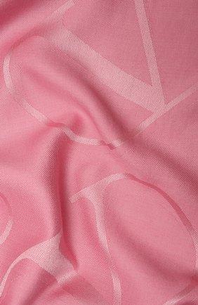Женская шаль  VALENTINO розового цвета, арт. VW2EB104/AJB   Фото 2