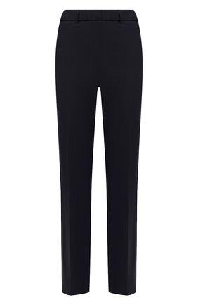 Женские шерстяные брюки LORENA ANTONIAZZI темно-синего цвета, арт. P2108PA009/3180   Фото 1