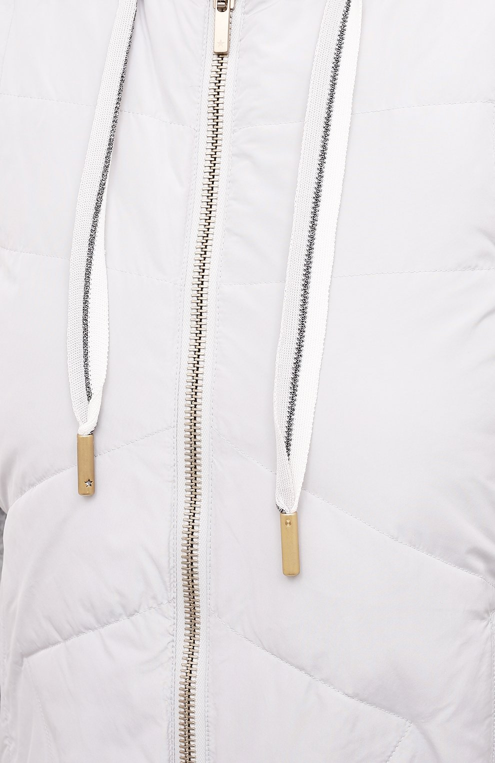 Женский жилет LORENA ANTONIAZZI светло-серого цвета, арт. P2109PI012/3374 | Фото 5