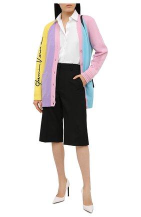 Женский кашемировый кардиган VERSACE разноцветного цвета, арт. A88528/A237521 | Фото 2