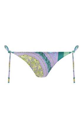Женский плавки-бикини VERSACE разноцветного цвета, арт. ABD40002/1F00380   Фото 1