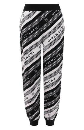 Женские шерстяные джоггеры GIVENCHY черного цвета, арт. BW50PB4Z7J | Фото 1