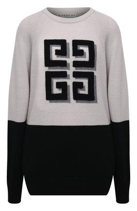Женский кашемировый пуловер GIVENCHY черного цвета, арт. BW908N4Z8W | Фото 1