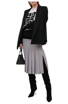 Женский кашемировый пуловер GIVENCHY черного цвета, арт. BW908N4Z8W | Фото 2