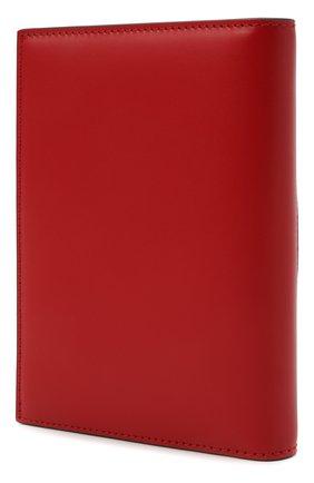 Женские кожаная обложка для паспорта valentino garavani VALENTINO красного цвета, арт. VW2P0V24/QEL   Фото 2