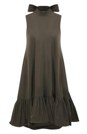 Женское платье REDVALENTINO хаки цвета, арт. VR3VAY35/1FP | Фото 1