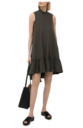 Женское платье REDVALENTINO хаки цвета, арт. VR3VAY35/1FP | Фото 2
