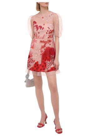 Женское платье REDVALENTINO красного цвета, арт. VR3VA17F/5QM | Фото 2