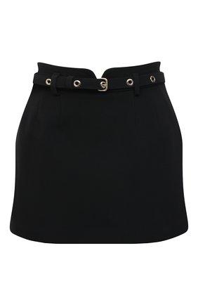 Женская юбка-шорты REDVALENTINO черного цвета, арт. VR3RFE50/2EU | Фото 1