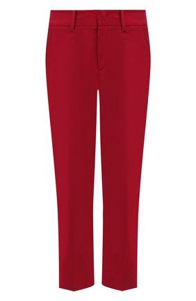 Женские брюки из вискозы и шерсти REDVALENTINO красного цвета, арт. VR3RBD45/WBP | Фото 1