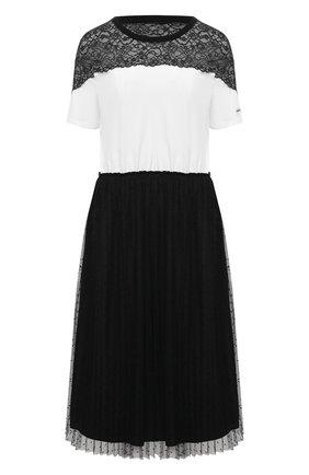 Женское платье REDVALENTINO черно-белого цвета, арт. VR3MJ06C/5PU | Фото 1
