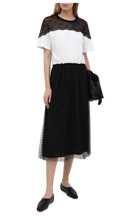 Женское платье REDVALENTINO черно-белого цвета, арт. VR3MJ06C/5PU | Фото 2