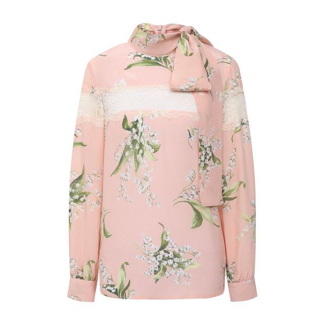 Шелковая блузка REDVALENTINO