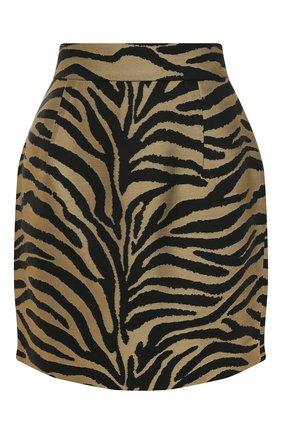 Женская юбка из вискозы KHAITE черного цвета, арт. 4043450/EIK0 | Фото 1
