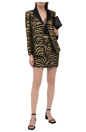 Женская юбка из вискозы KHAITE черного цвета, арт. 4043450/EIK0 | Фото 2