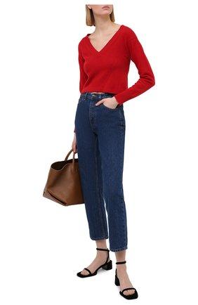 Женский кашемировый пуловер PHILOSOPHY DI LORENZO SERAFINI красного цвета, арт. A0912/702 | Фото 2