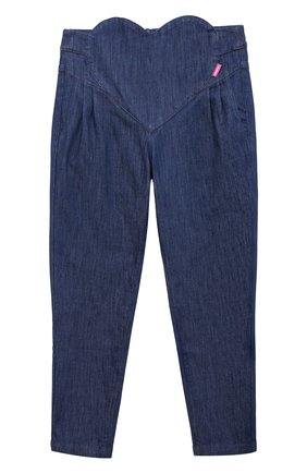 Детские брюки SIMONETTA синего цвета, арт. 1O6041 | Фото 1