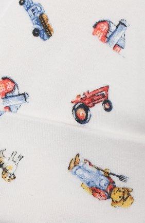 Детского хлопковая шапка RALPH LAUREN разноцветного цвета, арт. 320799092   Фото 3 (Материал: Текстиль, Хлопок)
