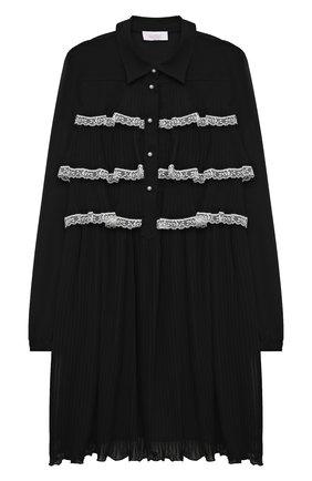 Детское платье ALETTA черного цвета, арт. AE21548/4A-8A | Фото 1