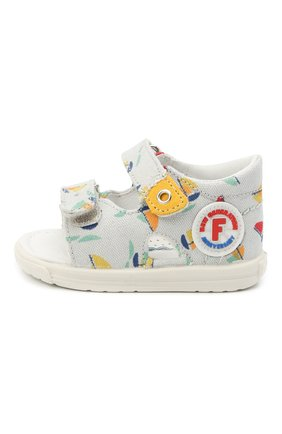 Детские текстильные сандалии FALCOTTO разноцветного цвета, арт. 0011500824/05 | Фото 2