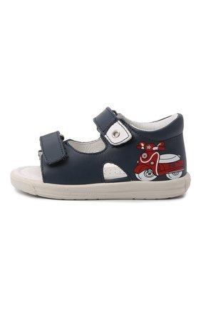 Детские кожаные сандалии FALCOTTO синего цвета, арт. 0011500898/01 | Фото 2