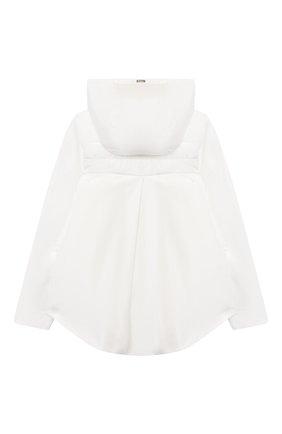 Детская стеганая куртка HERNO белого цвета, арт. GI0045G/20045/4A-8A   Фото 2