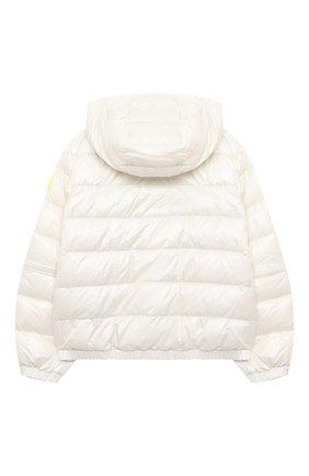 Детского пуховая куртка MONCLER белого цвета, арт. G1-954-1A50K-10-539ST/4-6A | Фото 2