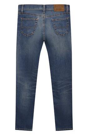 Детские джинсы POLO RALPH LAUREN синего цвета, арт. 323750426 | Фото 2