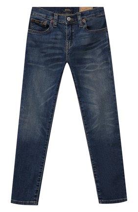 Детские джинсы POLO RALPH LAUREN синего цвета, арт. 322750426 | Фото 1