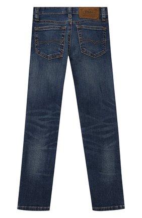 Детские джинсы POLO RALPH LAUREN синего цвета, арт. 322750426 | Фото 2