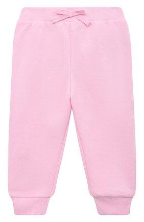Детский комплект из толстовки и брюк POLO RALPH LAUREN розового цвета, арт. 310833730   Фото 4