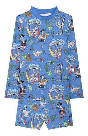 Детские комплект для плавания STELLA MCCARTNEY синего цвета, арт. 602343/SQK06 | Фото 1