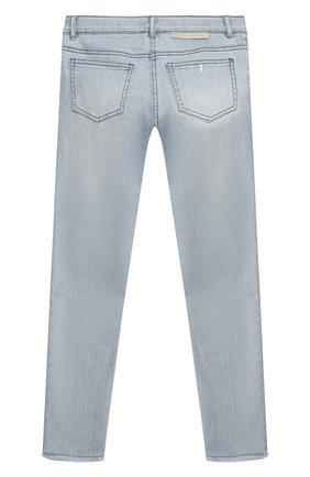 Детские джинсы STELLA MCCARTNEY светло-голубого цвета, арт. 602749/SQKE6 | Фото 2
