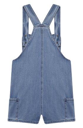 Детский джинсовый комбинезон STELLA MCCARTNEY синего цвета, арт. 602712/SQKB8 | Фото 2