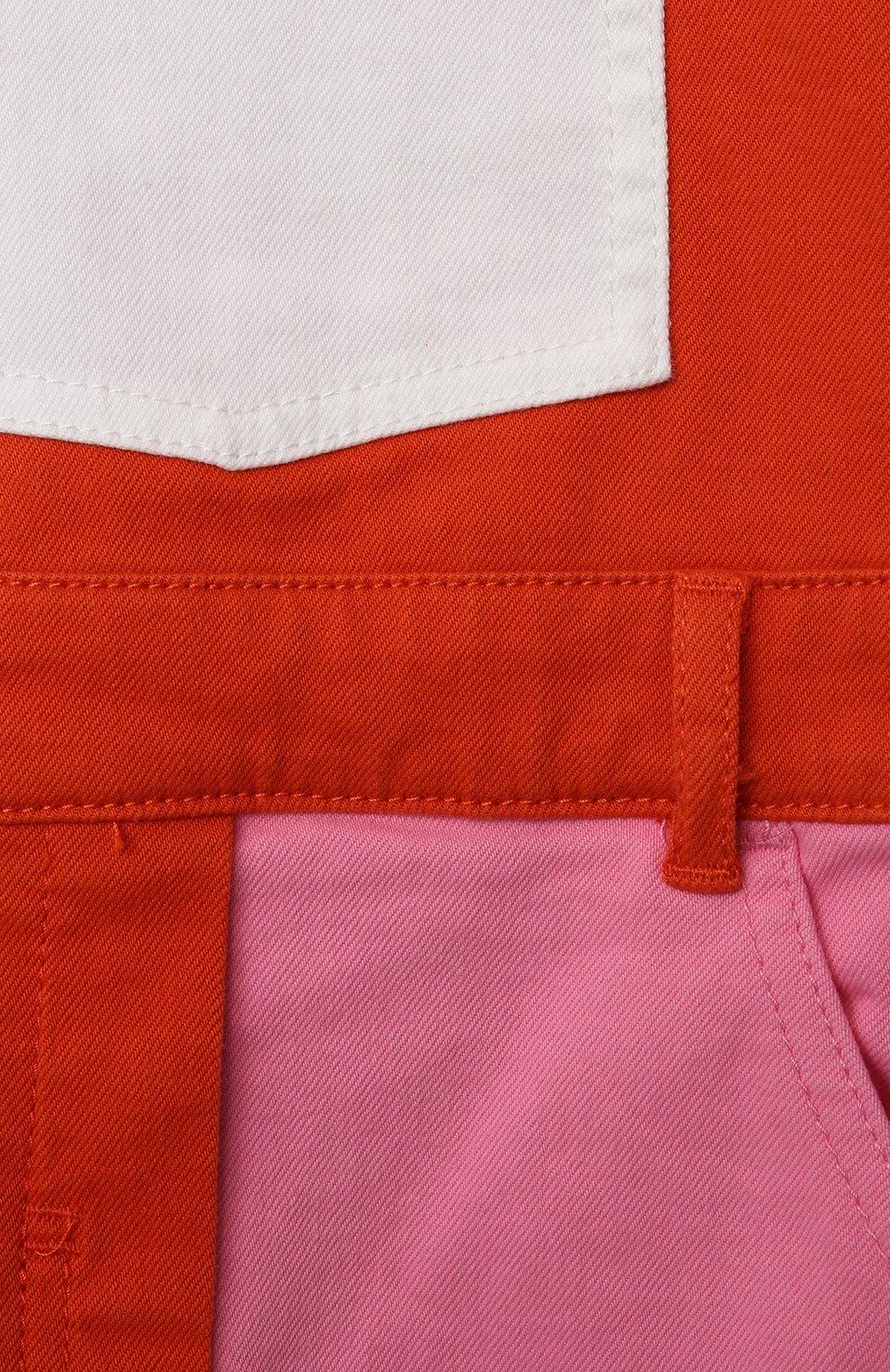 Детский джинсовый комбинезон STELLA MCCARTNEY разноцветного цвета, арт. 602518/SQKB4 | Фото 3