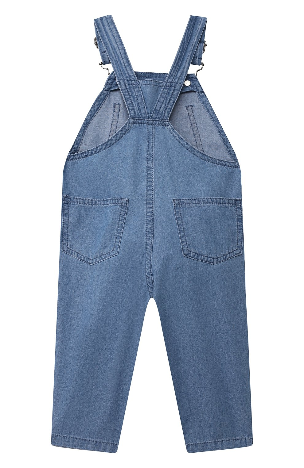Детский джинсовый комбинезон STELLA MCCARTNEY синего цвета, арт. 602376/SQK16 | Фото 2