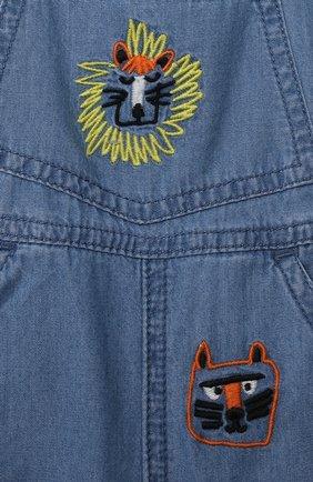 Детский джинсовый комбинезон STELLA MCCARTNEY синего цвета, арт. 602376/SQK16 | Фото 3