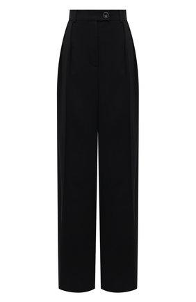 Женские шерстяные брюки LESYANEBO черного цвета, арт. FW20/H-434/N   Фото 1