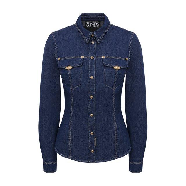 Джинсовая рубашка Versace Jeans Couture
