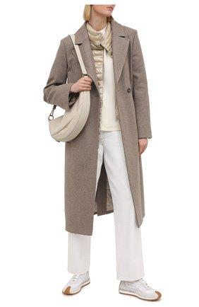 Женская пуховая куртка HERNO бежевого цвета, арт. PI1234D/12017 | Фото 2