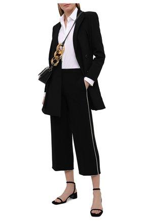 Женские брюки THEORY черного цвета, арт. K1109209 | Фото 2