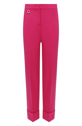Женские шерстяные брюки LORENA ANTONIAZZI фуксия цвета, арт. P2108PA038/3180 | Фото 1