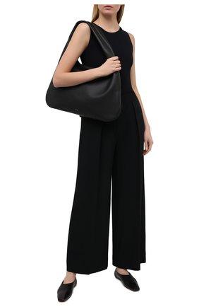 Женское боди JIL SANDER черного цвета, арт. JSPS705041-WS477108 | Фото 2